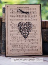 Hand Crafted Heart Greeting Card